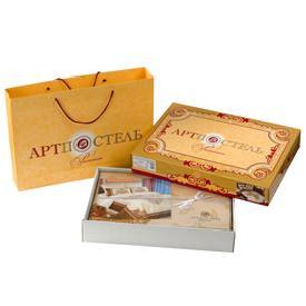 упаковка сатин подарочная коробка