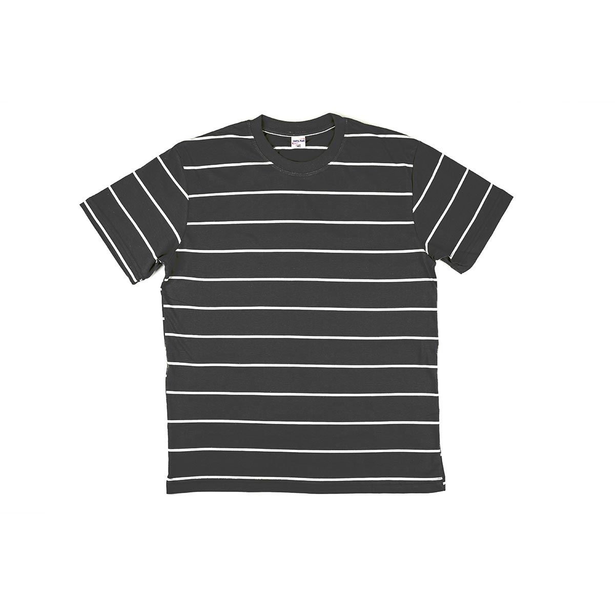 Мужская футболка Simple stripe, цвет Черный в полоску, размер 50Футболки и майки<br><br><br>Тип: Муж. футболка<br>Размер: 50<br>Материал: Кулирка