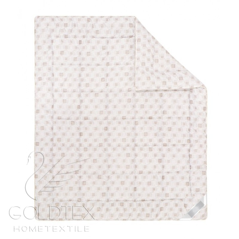 Одеяло Delicate Touch Шерсть мериноса, размер 1,5 спальное (140х205 см)Одеяла<br>Длина:205 см<br>Ширина:140 см<br>Чехол:Стеганый, с кантом<br>Плотность наполнителя:300 г/кв. м<br><br>Тип: Одеяло<br>Размер: 140х205<br>Материал: Овечья шерсть