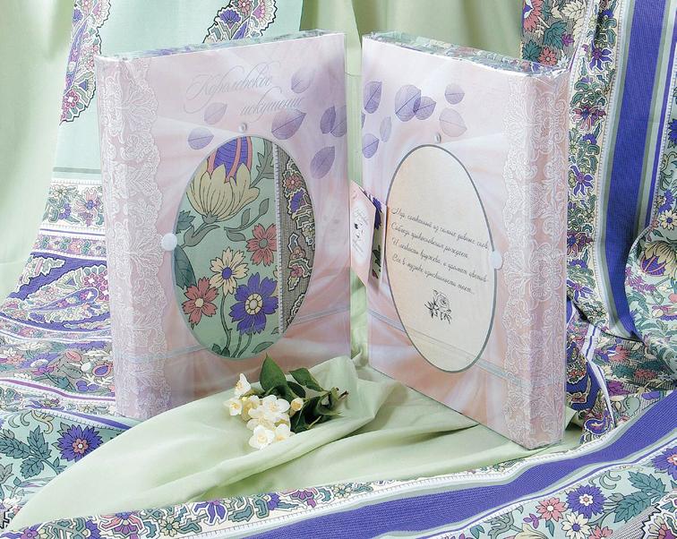 """Комплект """"Камелия"""" Фиолетовый, размер 2,0-спальный с европростыней"""