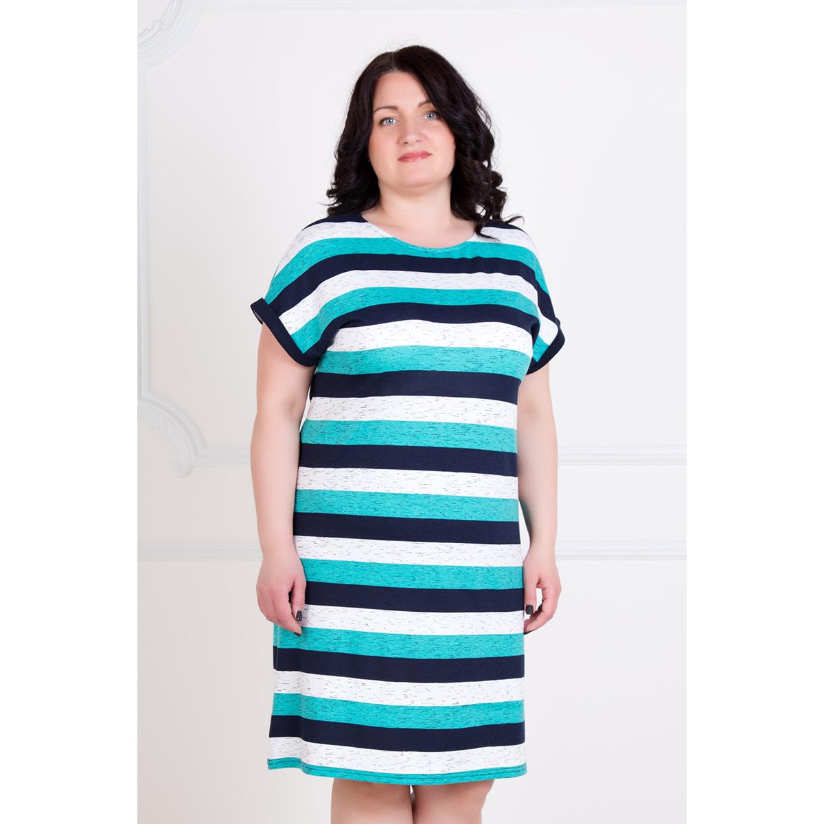 Жен. платье Ассоль р. 56Платья, туники<br>Обхват груди:112 см<br>Обхват талии:92 см<br>Обхват бедер:120 см<br>Длина по спинке:92 см<br>Рост:167 см<br><br>Тип: Жен. платье<br>Размер: 56<br>Материал: Вискоза