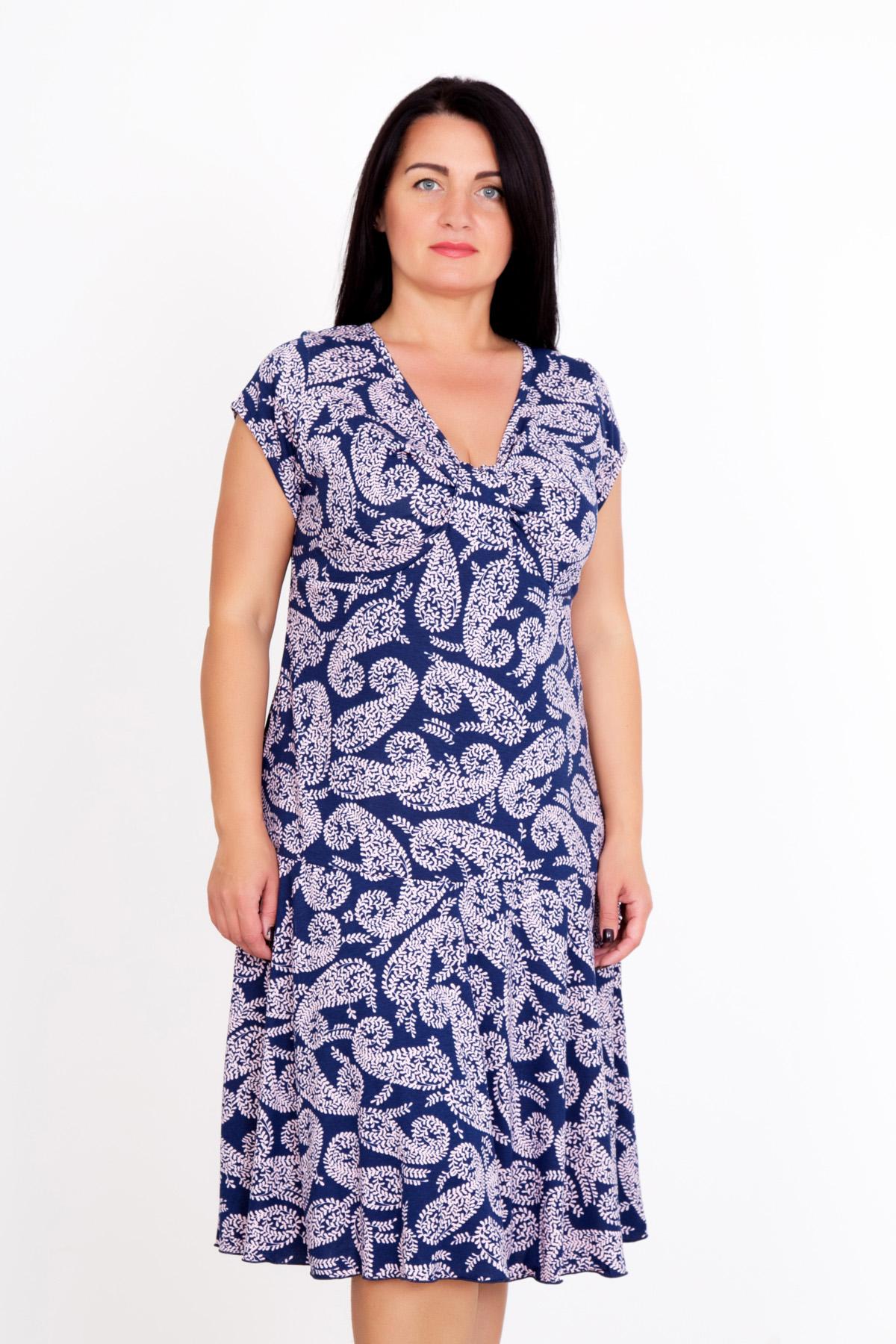 Женское платье Прелесть, размер 58Платья, туники<br>Обхват груди:116 см<br>Обхват талии:97 см<br>Обхват бедер:124 см<br>Рост:167 см<br><br>Тип: Жен. платье<br>Размер: 58<br>Материал: Вискоза