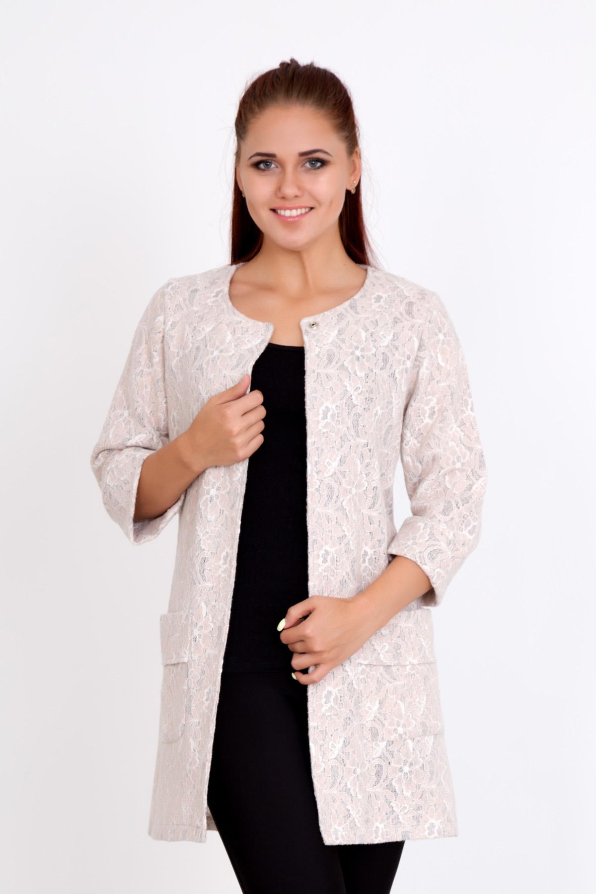 Жен. пальто  Летнее  Розовый р. 58 - Женская одежда артикул: 20374