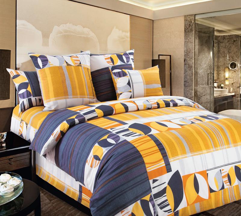 Комплект Голландия Оранжевый, размер 2,0-спальный с европростынейПеркаль<br>Плотность ткани:110 г/кв. м<br>Пододеяльник:215х175 см - 1 шт.<br>Простыня:220х240 см - 1 шт.<br>Наволочка:70х70 см - 2 шт.<br><br>Тип: КПБ<br>Размер: 2,0-сп. евро<br>Материал: Перкаль