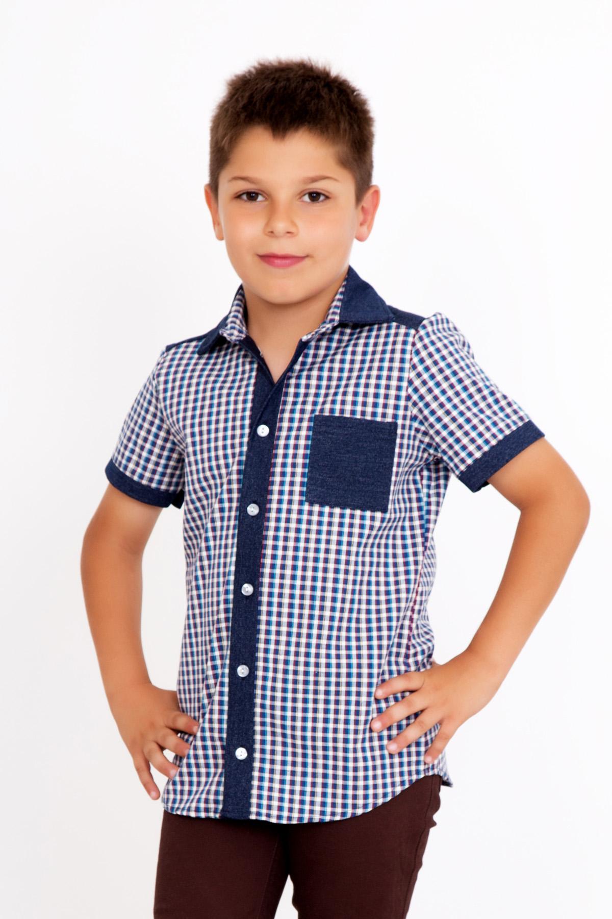 Детская рубашка Анвар, размер 6 летТолстовки, джемпера и рубашки<br><br><br>Тип: Дет. рубашка<br>Размер: 6 лет<br>Материал: Шотландка