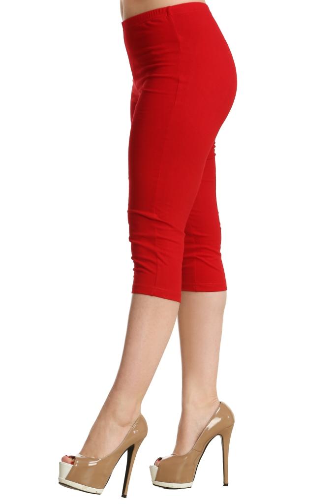 Жен. бриджи арт. 16-0072 Красный р. 60 - Женская одежда артикул: 21251