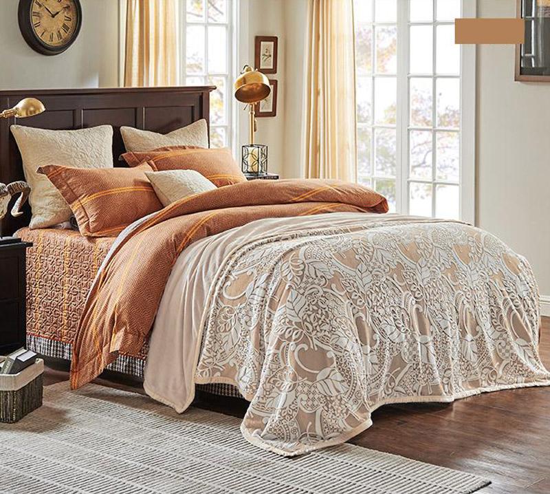 Плед  Осень  р. 200х220 - Текстиль для дома артикул: 29523
