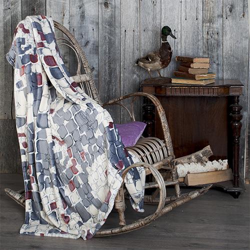 Плед  Чароит  р. 180х200 - Текстиль для дома артикул: 27554
