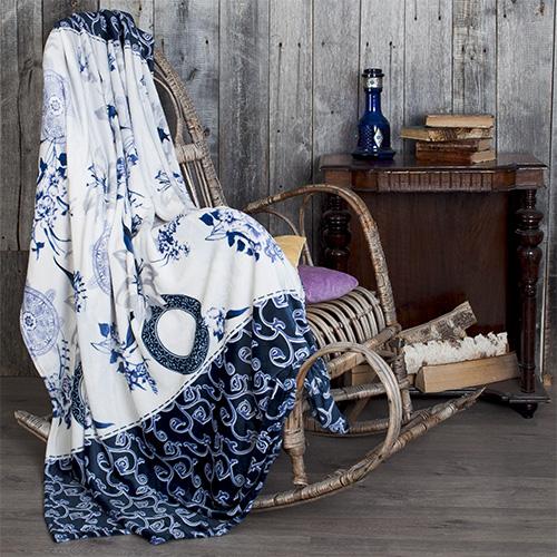 Плед  Летняя ночь  р. 180х200 - Текстиль для дома артикул: 27558