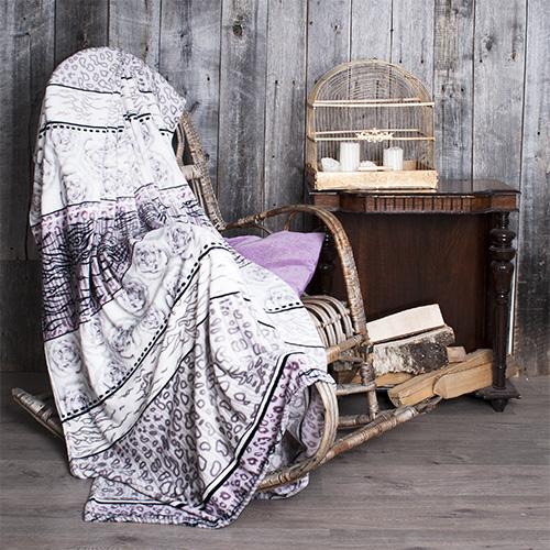 Плед  Рассвет  р. 180х200 - Текстиль для дома артикул: 30177