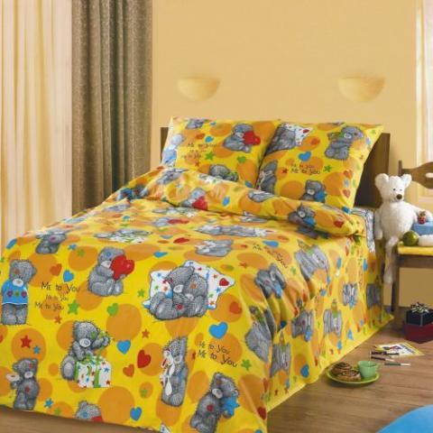 Детский комплект  Топтыжка , размер 1,5-спальный - Постельное белье артикул: 7699