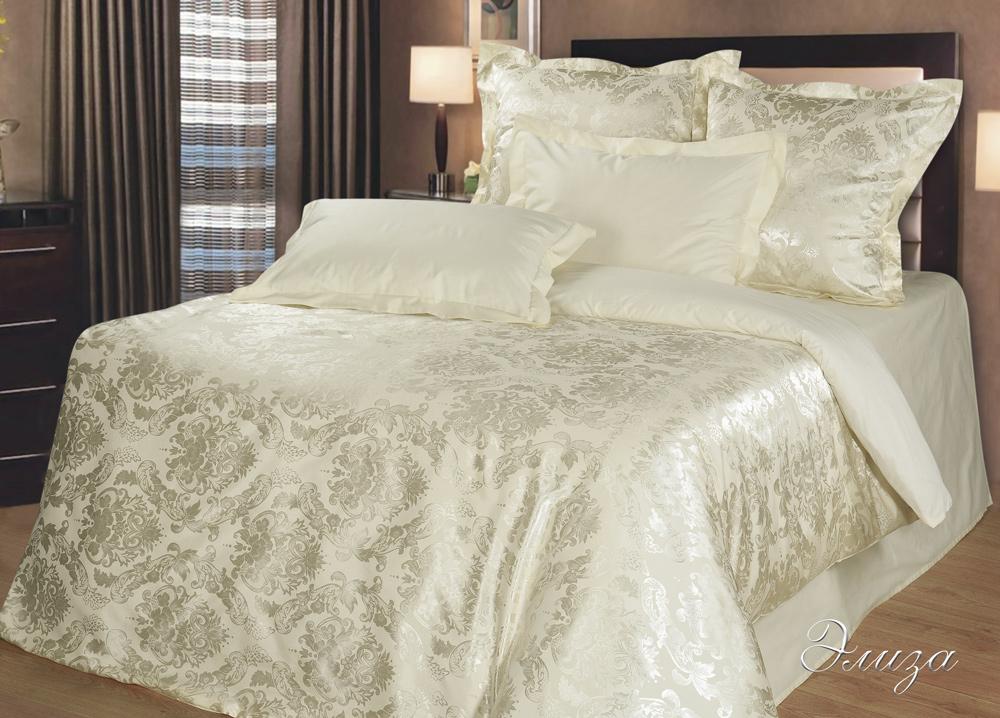 Комплект  Элиза , размер 2,0-спальный с 4 наволочками - Постельное белье артикул: 10558