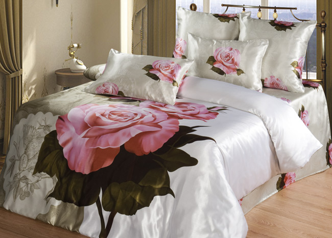 КПБ  Эмилия , размер 2,0-спальный с 4 наволочками - Постельное белье артикул: 10811