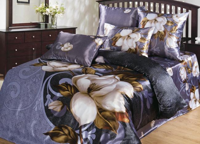 КПБ  Лорена , размер 2,0-спальный с 4 наволочками - Постельное белье артикул: 10813