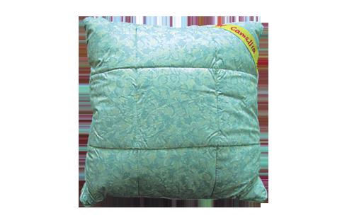Подушка Camellia, размер Подушка 50х70Для комфортного сна, отдыха и работы<br>Чехол: Стеганый, с кантом, на молнии <br>Регулировка высоты: Возможна<br><br>Тип: Подушка<br>Размер: 50х70<br>Материал: Лузга гречихи