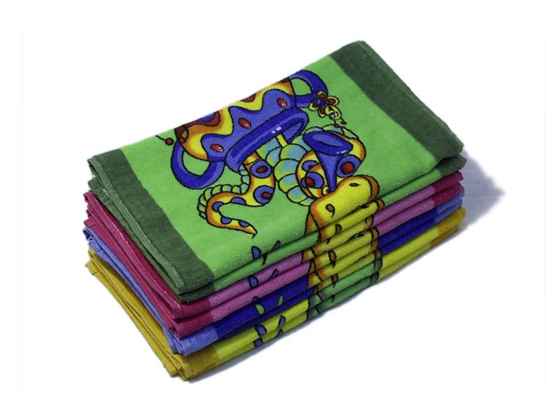 Полотенце Факир, цвет Жёлтый, размер 50х90 смМахровые полотенца<br>Плотность ткани:350 г/кв. м<br><br>Тип: Полотенце<br>Размер: 50х90<br>Материал: Велюр