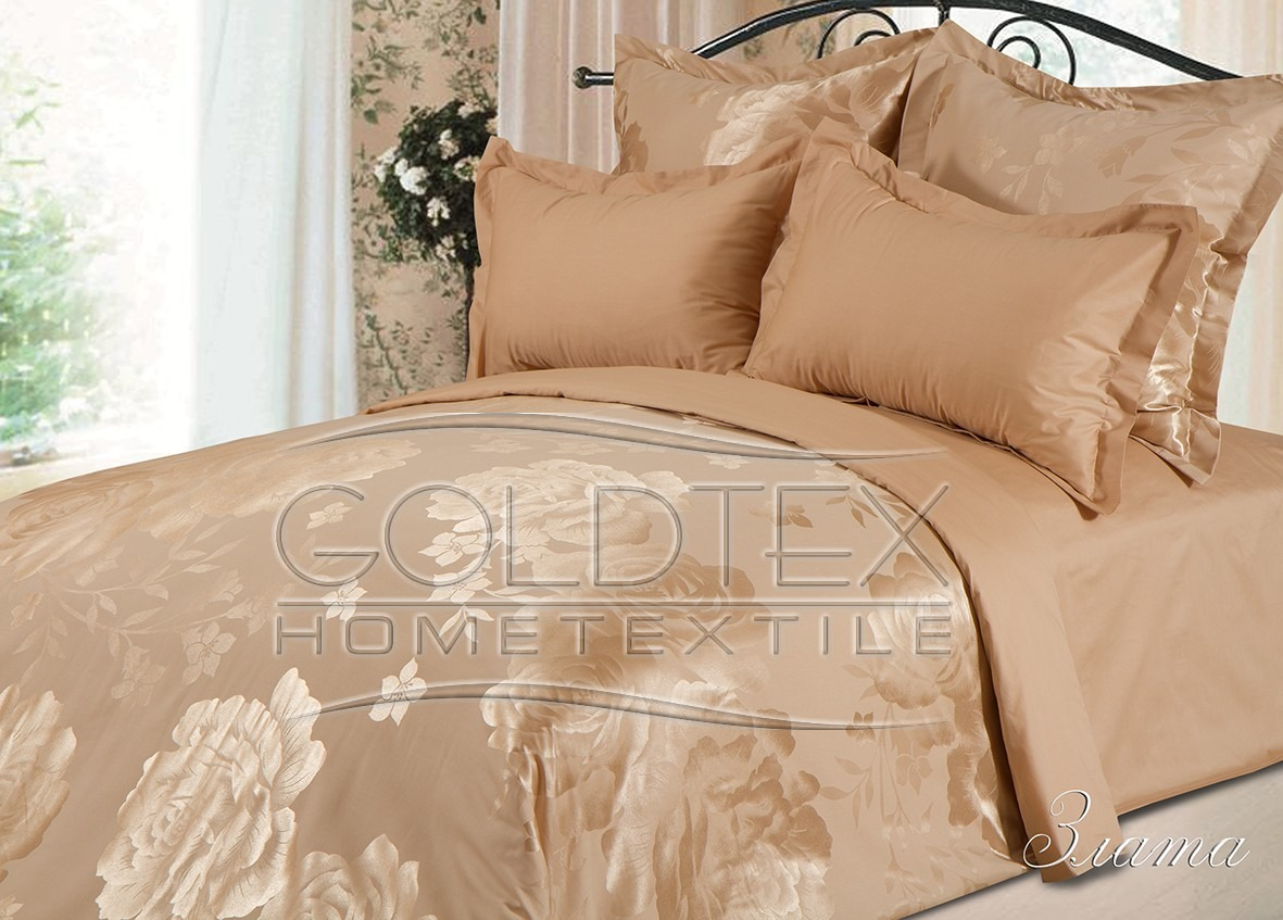 Комплект  Злата , размер Семейный с 4 наволочками - Постельное белье артикул: 10588