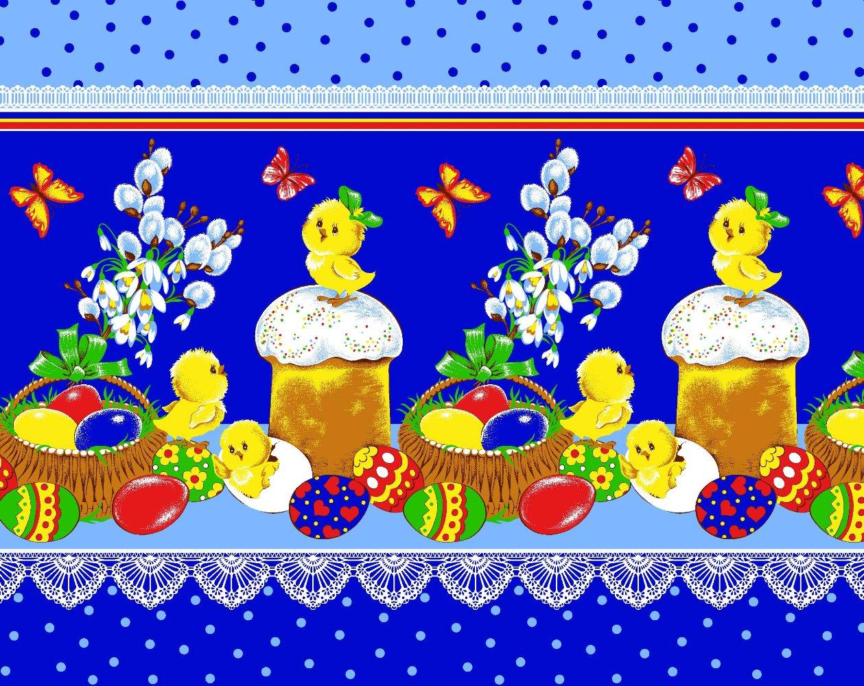 Вафельное полотенце Пасха, размер 50х70 смВафельные полотенца<br><br><br>Тип: Вафельное полотенце<br>Размер: 50х70<br>Материал: Вафельное полотно