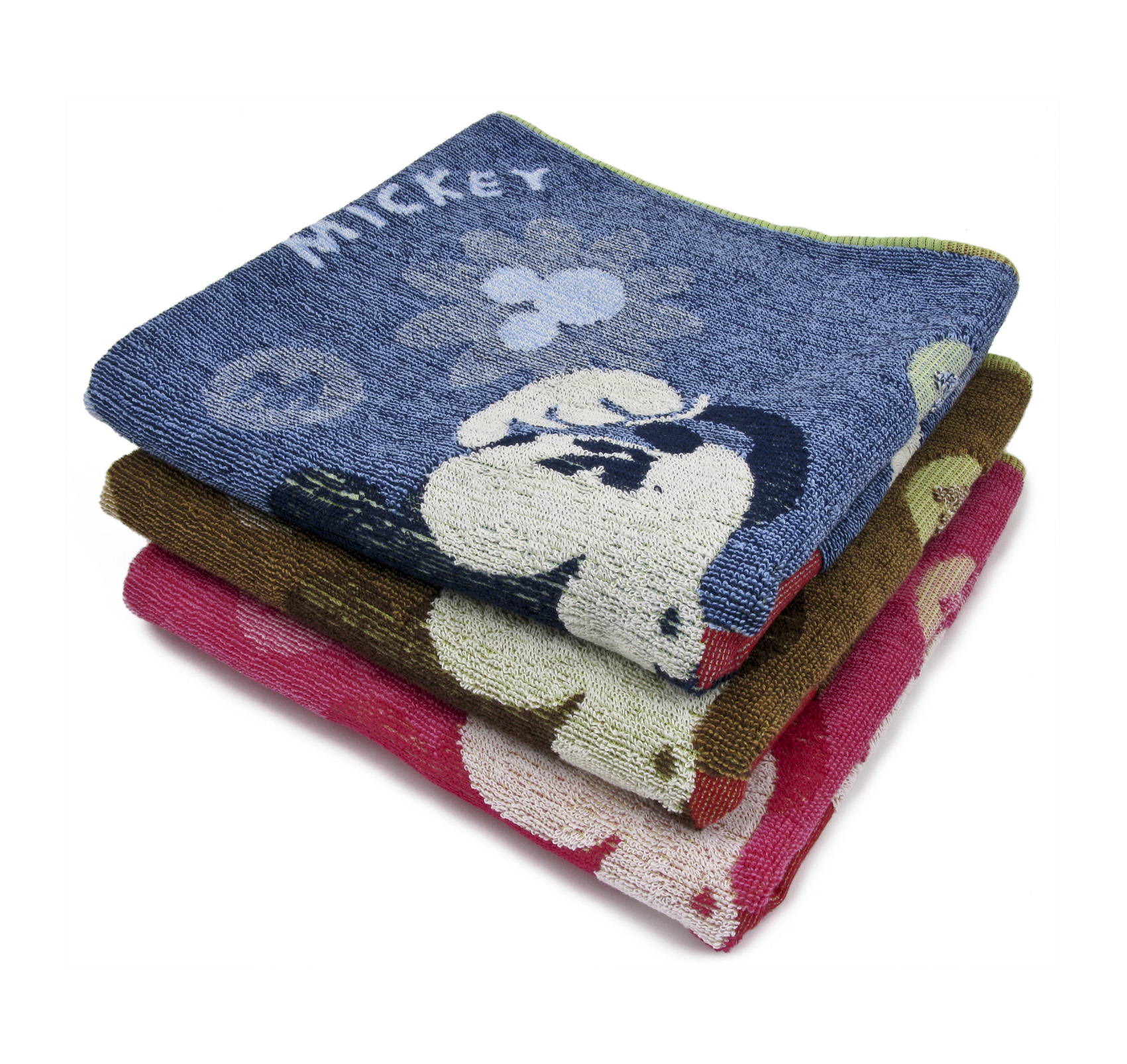 Полотенце Микки, цвет Коричневый, размер 65х135 смМахровые полотенца<br>Плотность ткани:370 г/кв. м.<br><br>Тип: Полотенце<br>Размер: 65х135<br>Материал: Махра