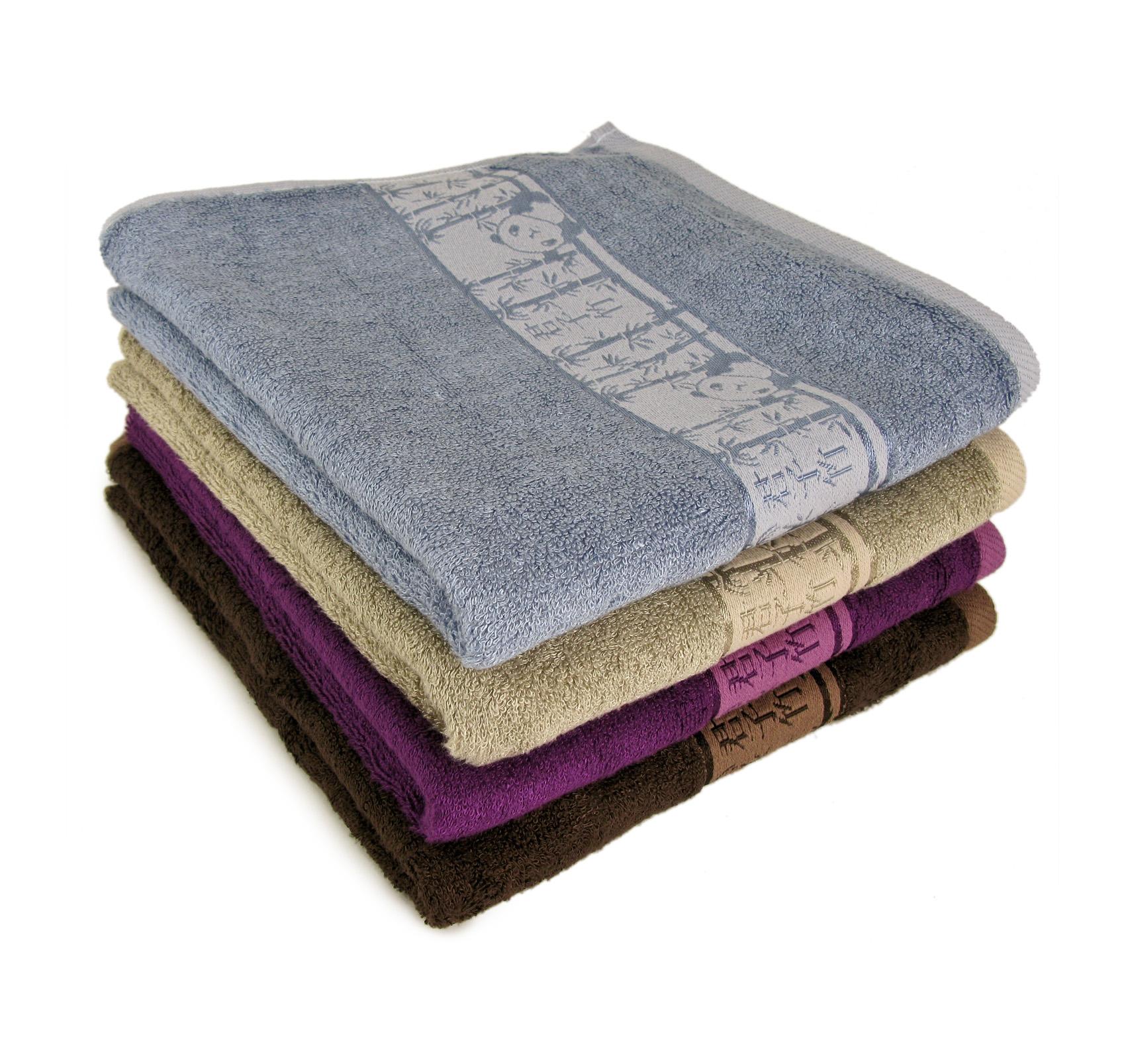 Полотенце Панды Бамбук, цвет Коричневый, размер 50х90 смМахровые полотенца<br>Плотность ткани:480 г/кв. м.<br><br>Тип: Полотенце<br>Размер: 50х90<br>Материал: Махра
