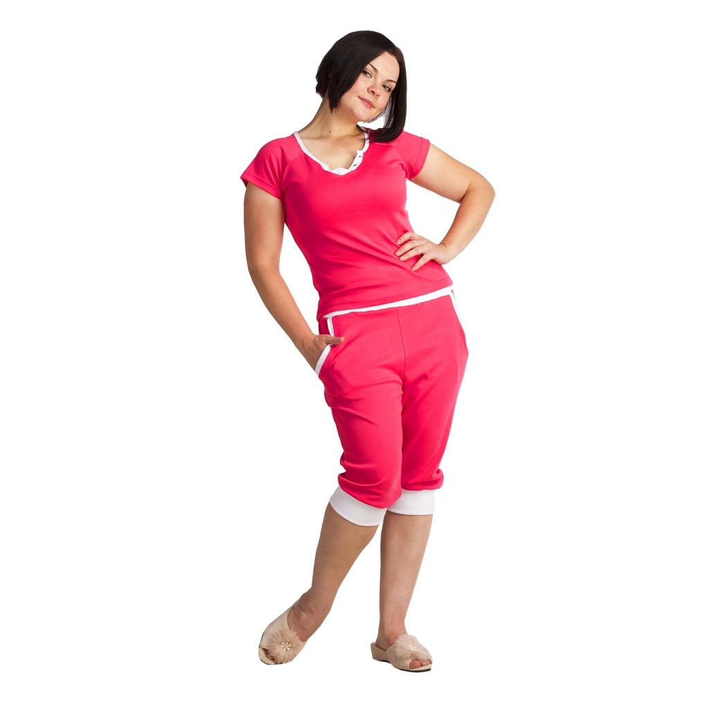 Женский костюм «Лайт» Красный, размер 42 ЕленаТекс