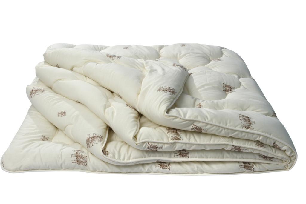 Одеяло Овечья шерсть Оригинал, размер 1,5 спальное (140х205 см)Одеяла<br>Длина: 205 см <br>Ширина: 140 см <br>Чехол: Стеганый, с окаймляющей лентой <br>Плотность наполнителя: 300 г/кв. м<br><br>Тип: Одеяло<br>Размер: 140х205<br>Материал: Овечья шерсть