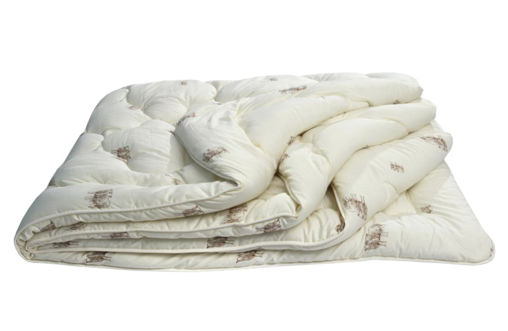 Одеяло Овечья шерсть Оригинал облегченное, размер 1,5 спальное (140х205 см)Одеяла<br>Длина: 205 см <br>Ширина: 140 см <br>Чехол: Стеганый, с окаймляющей лентой <br>Плотность наполнителя: 150 г/кв. м<br><br>Тип: Одеяло<br>Размер: 140х205<br>Материал: Овечья шерсть