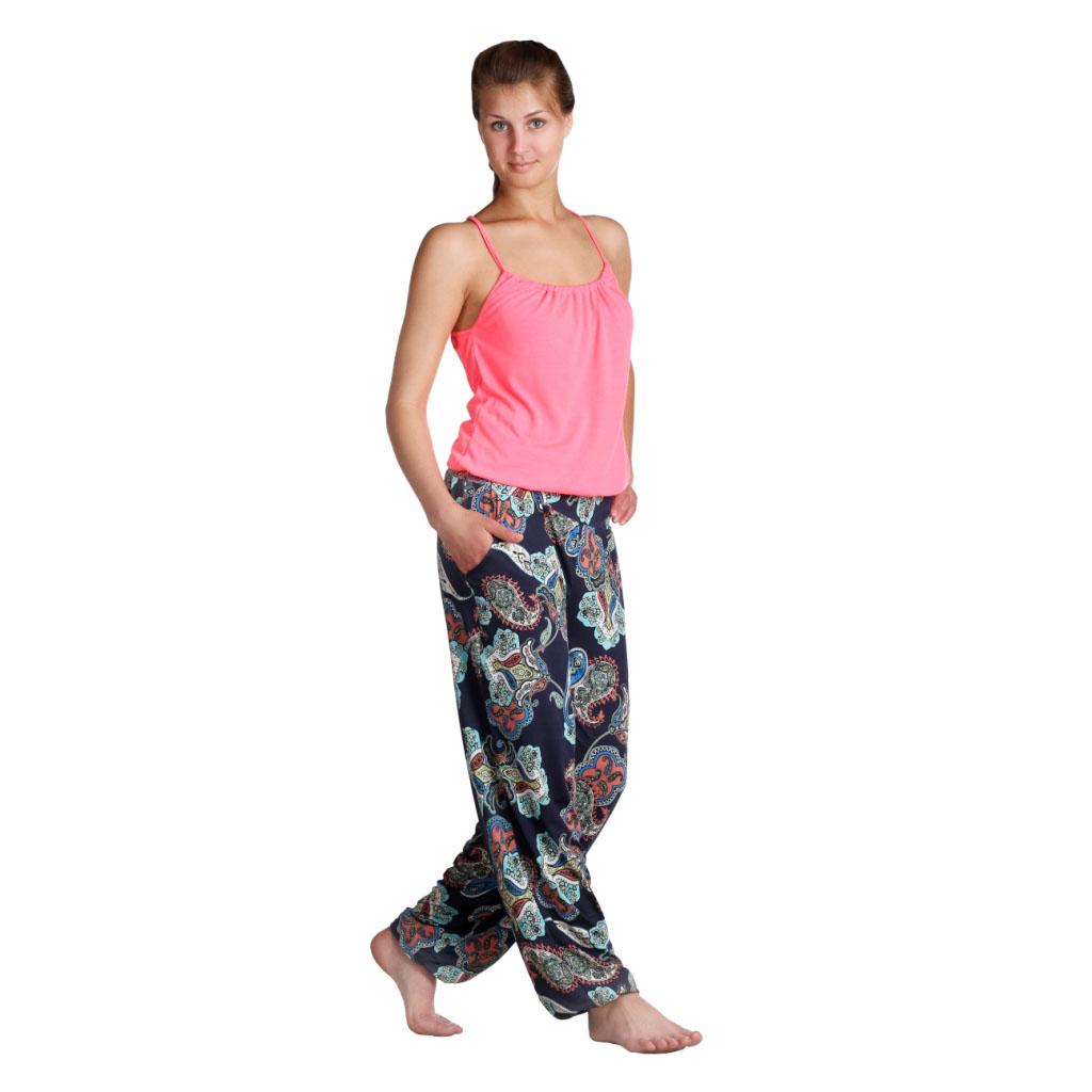 """Женские брюки """"Лэйт"""" Темный, размер 42 ЕленаТекс"""