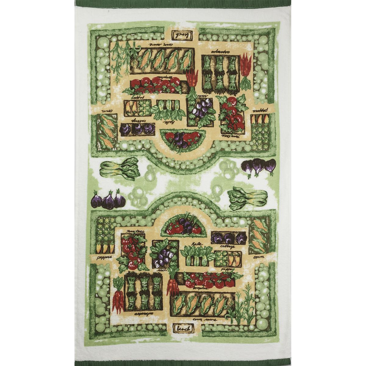 Велюровое полотенце Урожай, размер 40х70 смКухонные принадлежности<br><br><br>Тип: Полотенце<br>Размер: 40х70<br>Материал: Велюр