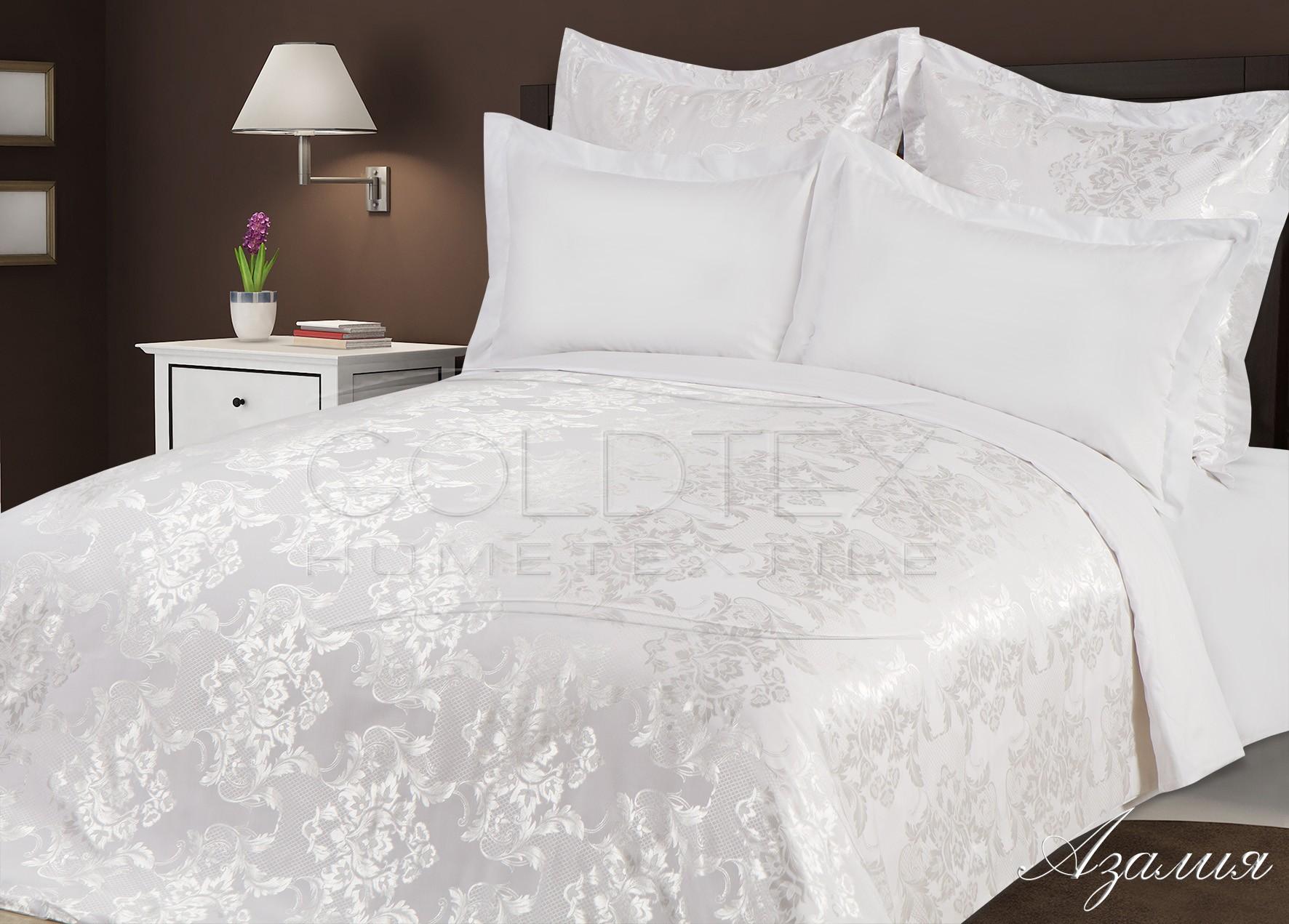 Комплект  Азалия , размер 2,0-спальный с 4 наволочками - Постельное белье артикул: 10665