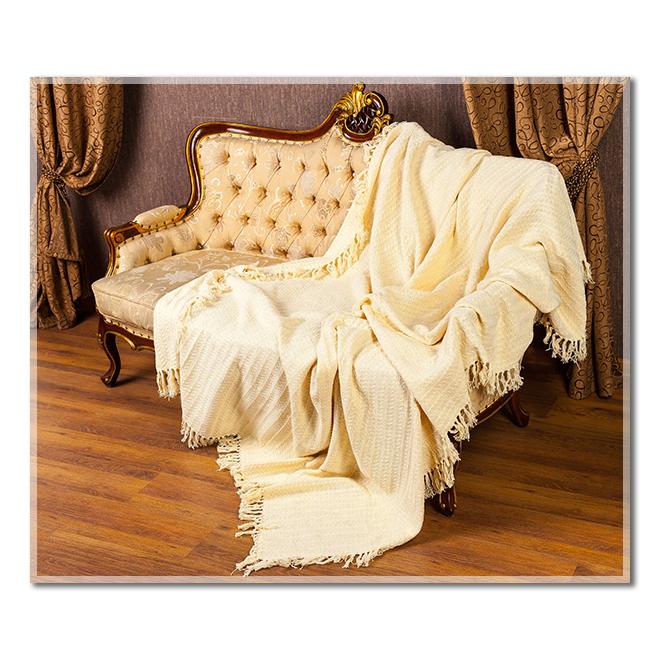 Покрывало Кантри Крем, размер 200х240 смПокрывала, пледы и коврики<br><br><br>Тип: Покрывало<br>Размер: 200х240<br>Материал: Хлопок