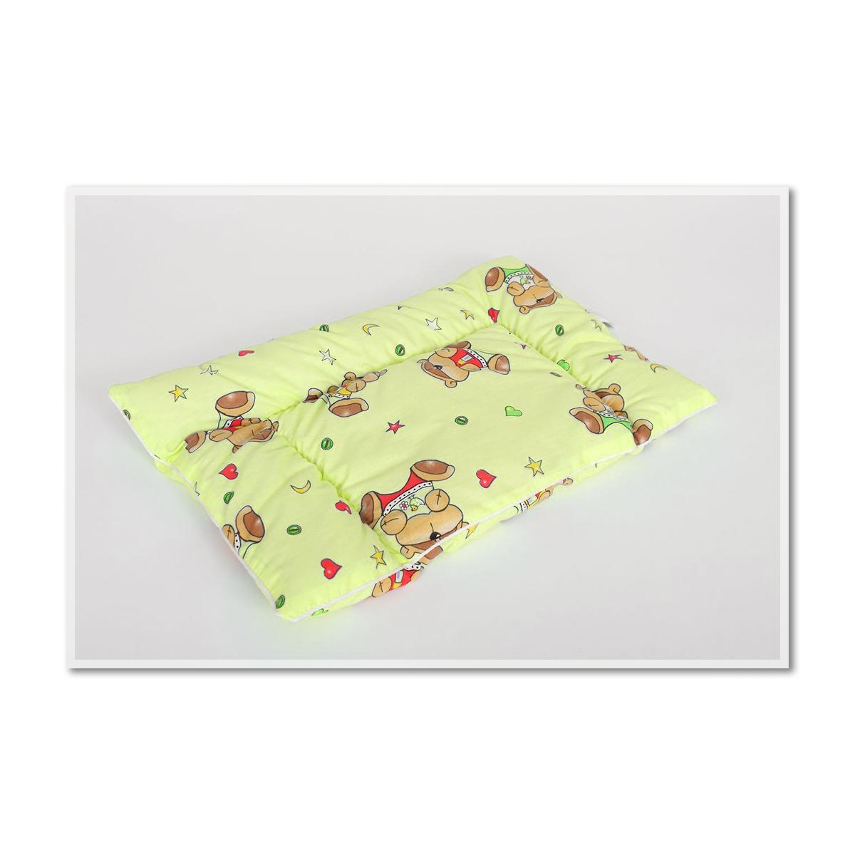 Детская подушка Малыш, размер 40х60 смДля беременных и новорожденных<br>Чехол: Стеганый, с кантом<br><br>Тип: Подушка<br>Размер: 40х60<br>Материал: Бамбук