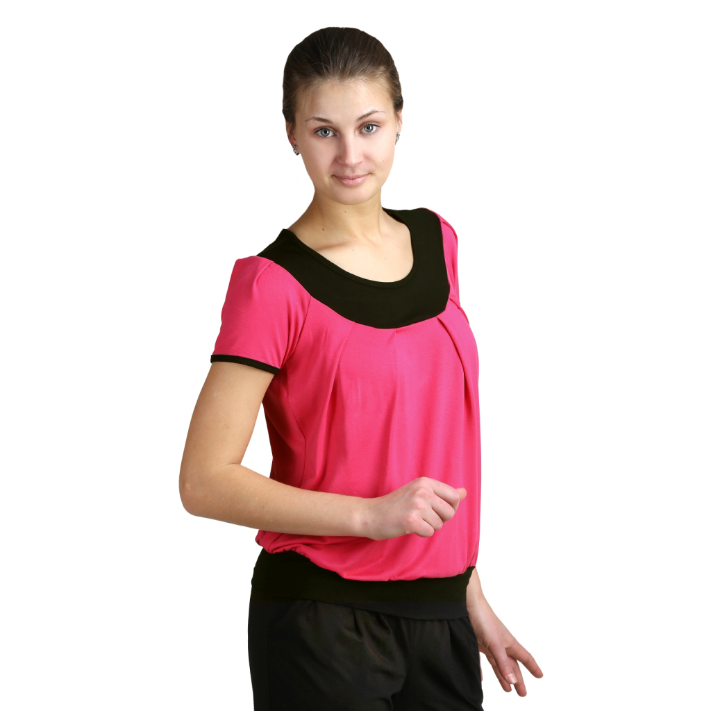 Женская блуза Ирэн Малиновый, размер 46Блузы<br>Обхват груди:92 см<br>Обхват талии:73 см<br>Обхват бедер:100 см<br>Длина по спинке:64.5 см<br>Рост:164-170 см<br><br>Тип: Жен. блузка<br>Размер: 46<br>Материал: Вискоза