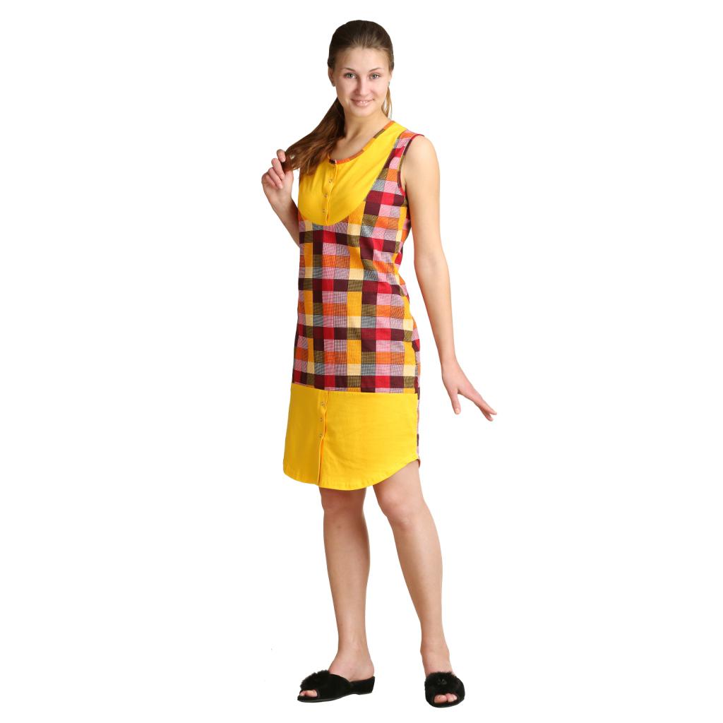Женское платье Арина Оранжевый, размер 52Платья, туники<br>Обхват груди:104 см<br>Обхват талии:86 см<br>Обхват бедер:112 см<br>Длина по спинке:96.2 см<br>Рост:164-170 см<br><br>Тип: Жен. платье<br>Размер: 52<br>Материал: Кулирка
