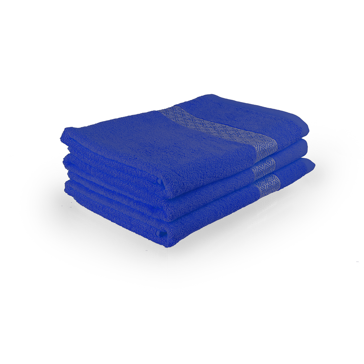 Полотенце Серебро Синий, размер 34х78 смМахровые полотенца<br>Плотность ткани:360 г/кв. м.<br><br>Тип: Полотенце<br>Размер: 34х78<br>Материал: Махра