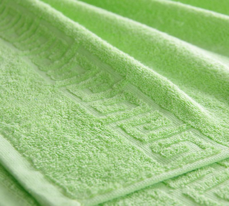 Полотенце Греко Салатовый, размер 100х180 смМахровые полотенца<br>Плотность ткани: 400 г/кв. м.<br><br>Тип: Полотенце<br>Размер: 100х175<br>Материал: Махра
