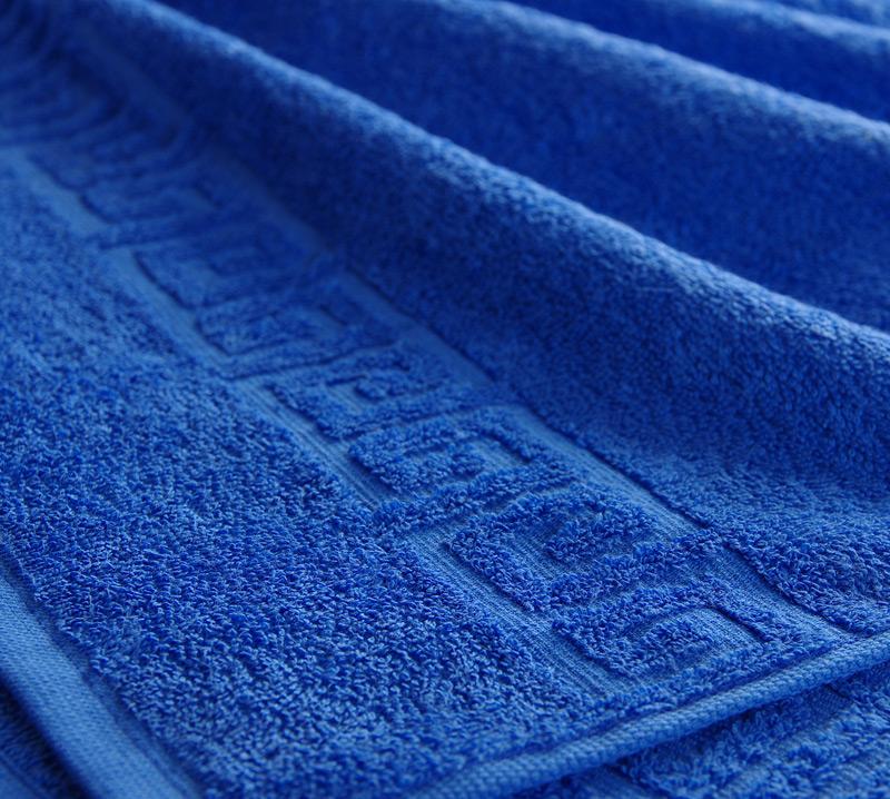 Полотенце Греко Синий, размер 50х90 смПолотенца<br>Плотность ткани: 400 г/кв. м.<br><br>Тип: Полотенце<br>Размер: 50х85<br>Материал: Махра