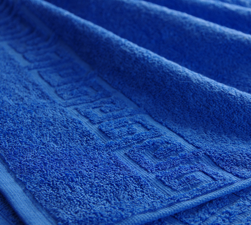 Полотенце Греко Синий, размер 70х140 смМахровые полотенца<br>Плотность ткани:400 г/кв. м.<br><br>Тип: Полотенце<br>Размер: 70х140<br>Материал: Махра