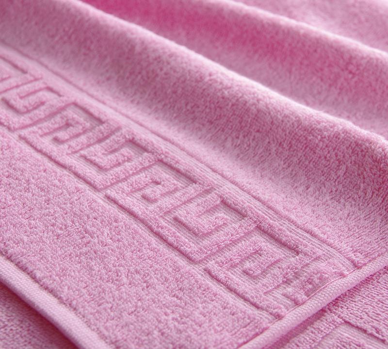 Полотенце Греко Светло-розовый, размер 100х180 смМахровые полотенца<br>Плотность ткани: 400 г/кв. м.<br><br>Тип: Полотенце<br>Размер: 100х175<br>Материал: Махра