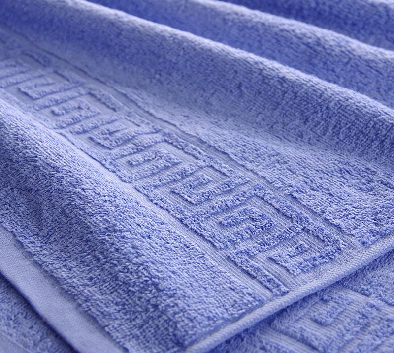 Полотенце Греко Светло-фиолетовый, размер 70х140 смМахровые полотенца<br>Плотность ткани: 400 г/кв. м.<br><br>Тип: Полотенце<br>Размер: 70х135<br>Материал: Махра