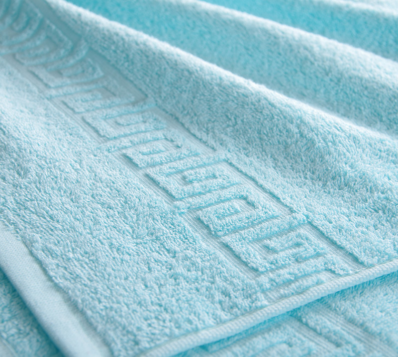 Полотенце Греко Светло-голубой, размер 100х180 смМахровые полотенца<br>Плотность ткани:400 г/кв. м.<br><br>Тип: Полотенце<br>Размер: 100х180<br>Материал: Махра