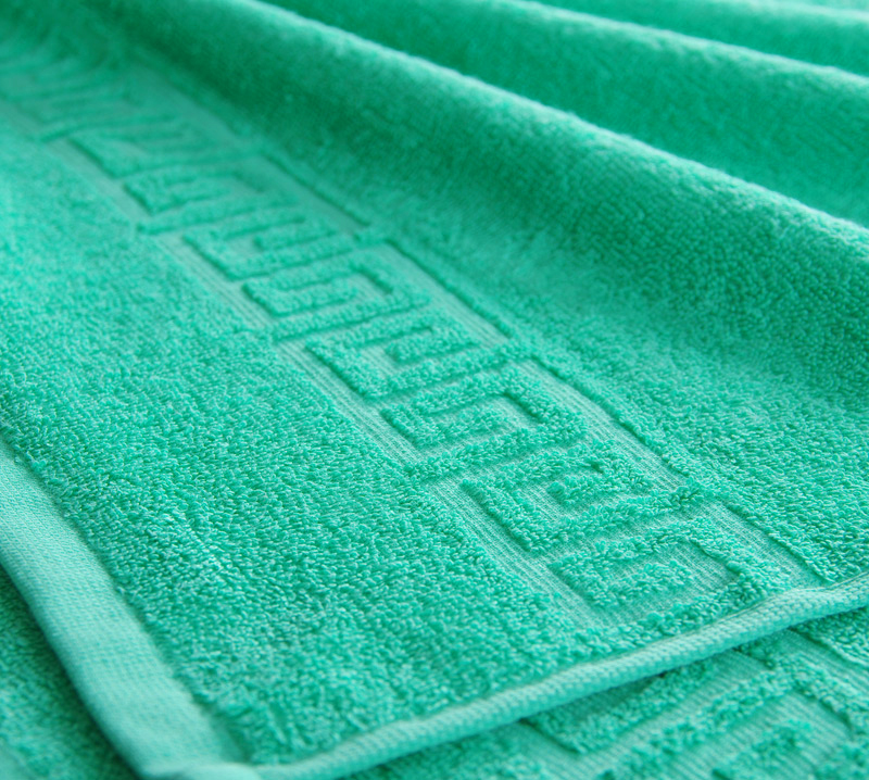 Полотенце Греко Зеленый, размер 50х90 смМахровые полотенца<br>Плотность ткани: 400 г/кв. м.<br><br>Тип: Полотенце<br>Размер: 50х85<br>Материал: Махра