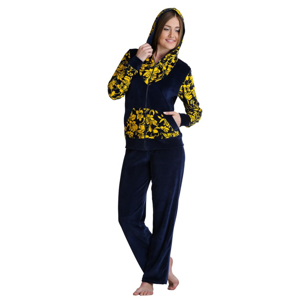 Женский костюм «Кира» желтый, размер 42 ЕленаТекс