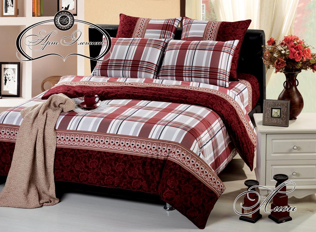 Комплект  Лион , размер 2,0-спальный с 4 наволочками - Постельное белье артикул: 10716