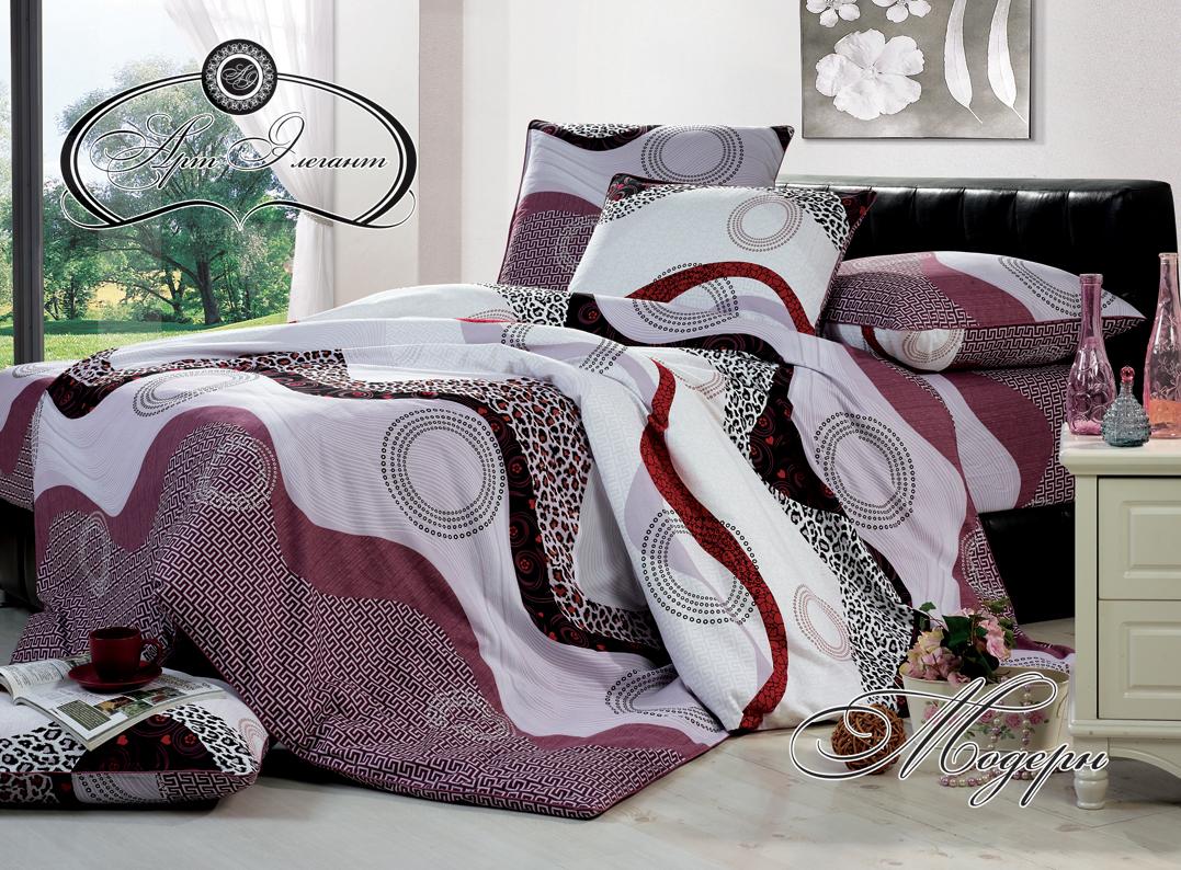 Комплект  Модерн , размер 2,0-спальный с 4 наволочками - Постельное белье артикул: 10722