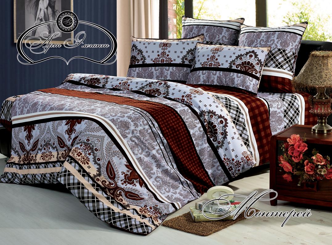 Комплект  Монтерей , размер 2,0-спальный с 4 наволочками - Постельное белье артикул: 10728