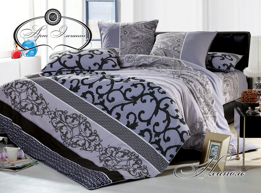Комплект  Неаполь , размер 2,0-спальный с 4 наволочками - Постельное белье артикул: 10725
