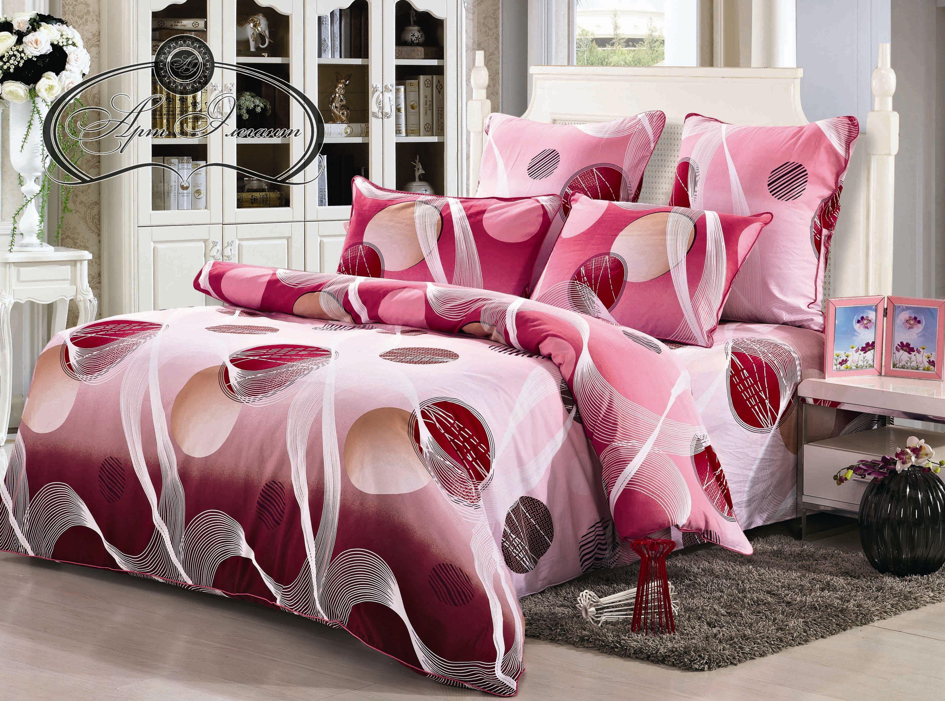 Комплект  Сиена , размер 2,0-спальный с 4 наволочками - Постельное белье артикул: 10758