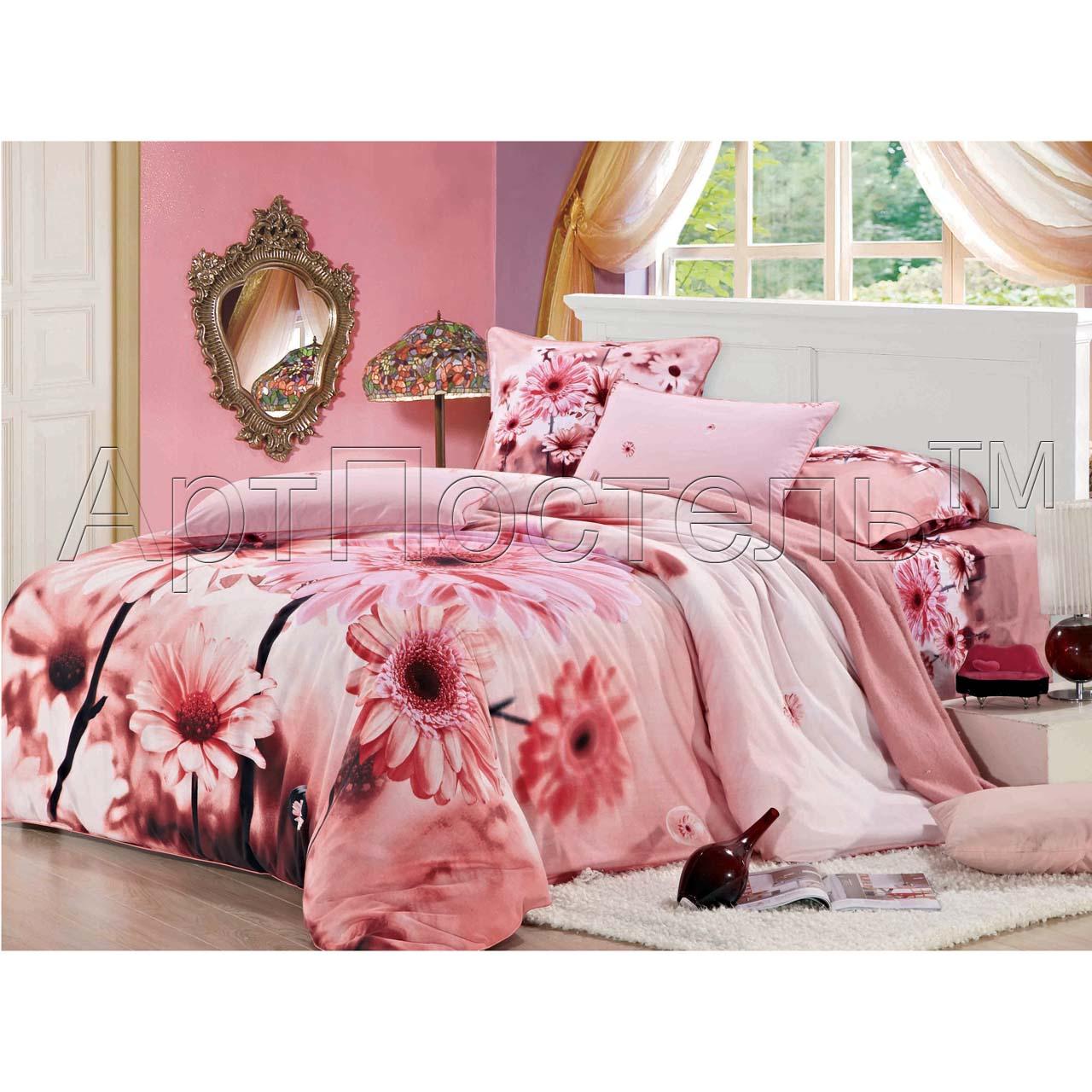 Комплект  Валенсия , размер 2,0-спальный с 4 наволочками - Постельное белье артикул: 10744