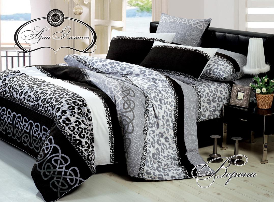 Комплект  Верона , размер 2,0-спальный с 4 наволочками - Постельное белье артикул: 10747